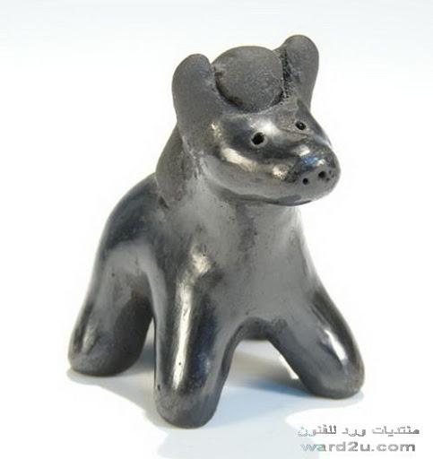 الخزف الاسود Black pottery