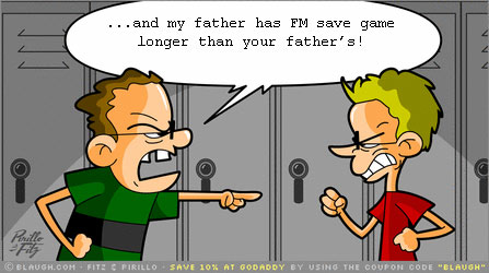 Longer Football Manager savegame