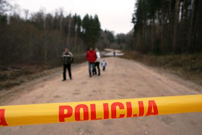 Policijas slēgts ceļš