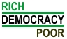 Rich poor and democracy