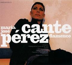 María José Pérez - Cante Flamenco (frontal)