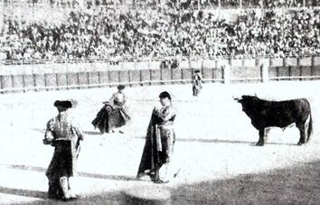 Mazzantini toreando Toledo 25-08-1898 001 (Quite)