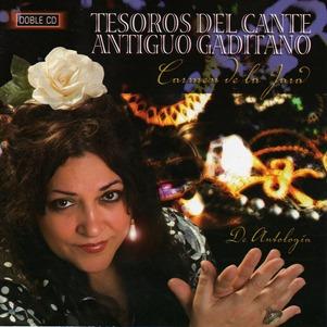 Carmen de la Jara-Tesoros del Cante Antiguo Gaditano (frontal)