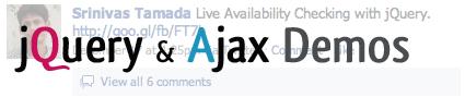 Jquery ajax demos