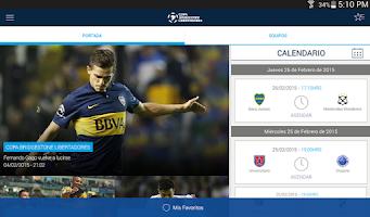 Screenshot of Copa Bridgestone Libertadores