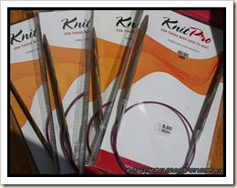 Knit Pro needles