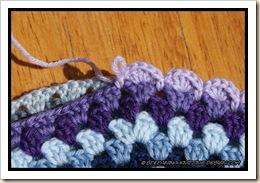 Granny mandala cushion joining row