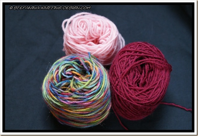 Fruity biscotti yarn choice