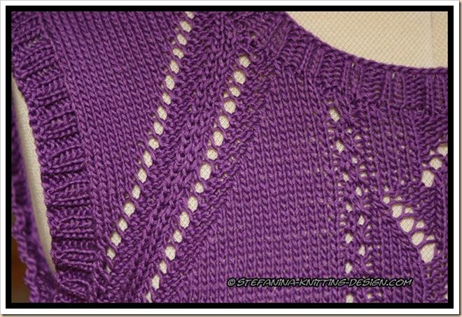 Louison - armhole lace insert detail