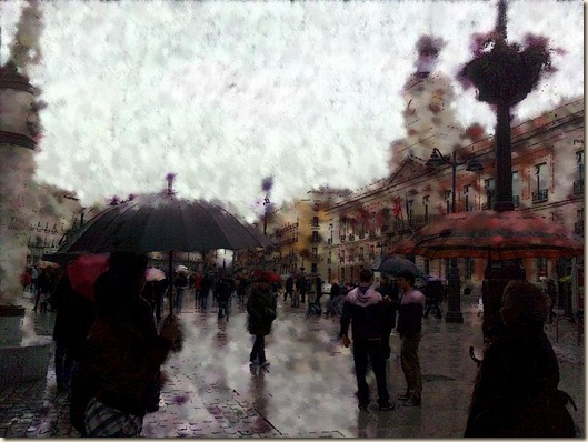 Lluvia en Sol