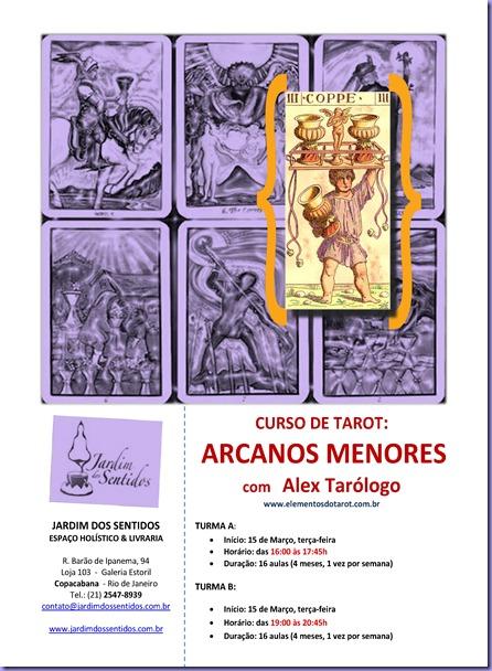 arcanos menores cartaz 2011
