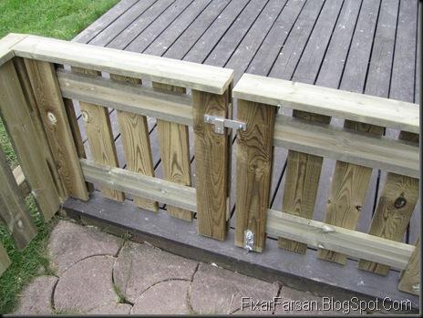 Bygga staket själv i tryckt virke (Bilder/Tips) | FixarFarsan