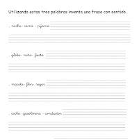 Inventar frases