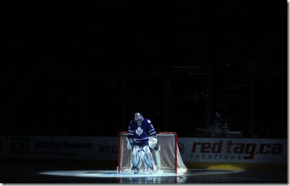 lonely leaf goalie