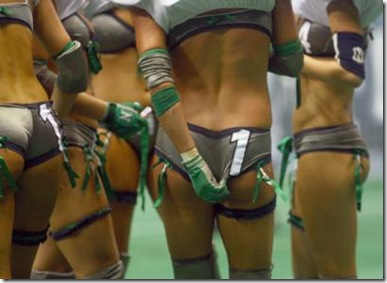 news lingerie football 281109