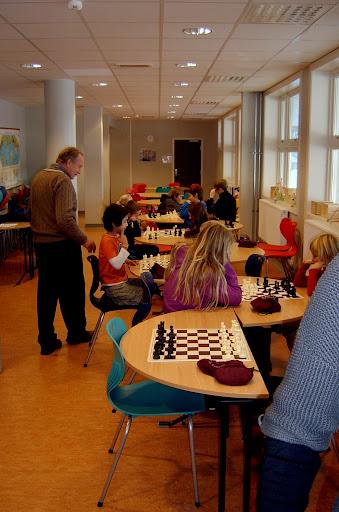 Skolesjakk på Lovisenlund skole