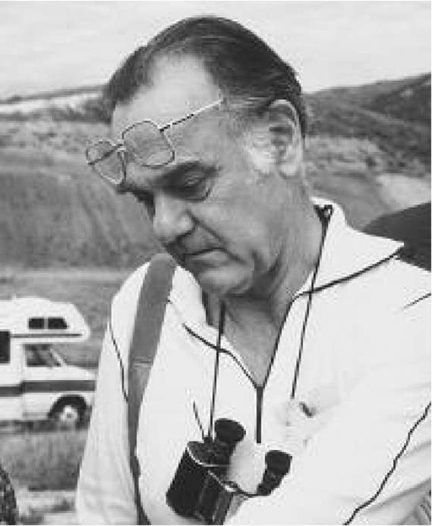 Bert Bally on a field trip in California in 1984