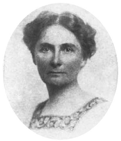Portrait of Florence Bascom
