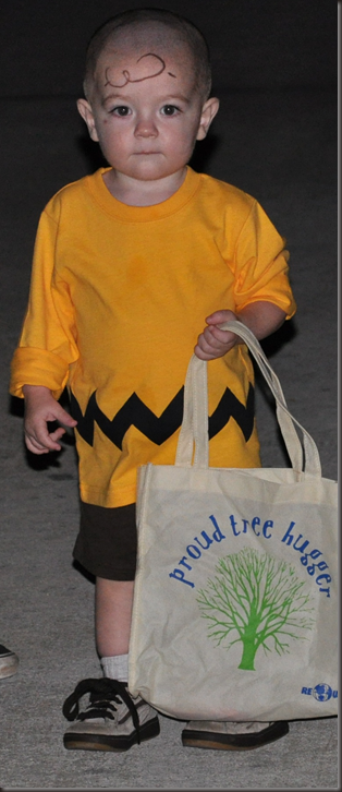 Ivan as Charlie Brown