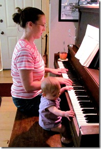 Andrea & Elaine on Piano