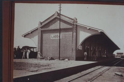Estação de Lagoa Branca em 1.898