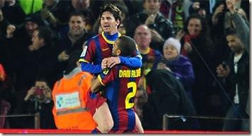 Messi Festeja