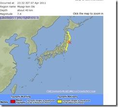 Nuevo Tsunami en Japon