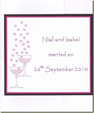 Niall & Isabel 2010