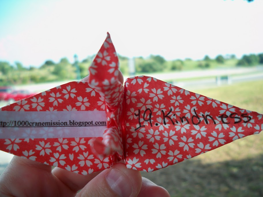 Petite Hermine: Featured Project: Sandy and the 1000 Paper Cranes