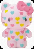 Hello Kitty Collectible Coin Bank: Hearts