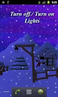 Screenshot of Winter 3D Live Wallpaper