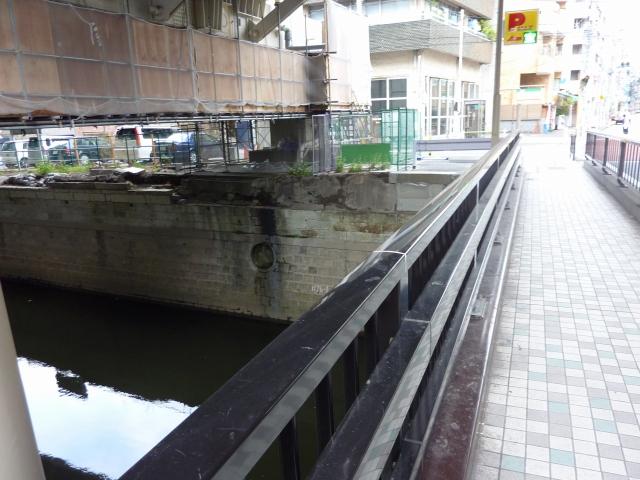 三之橋東詰下流部の入間川分水点?