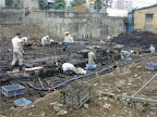六本木ヒルズ建設前の原金付近発掘調査