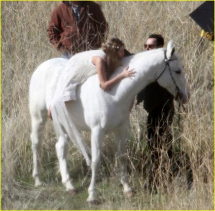 Miley  caballo
