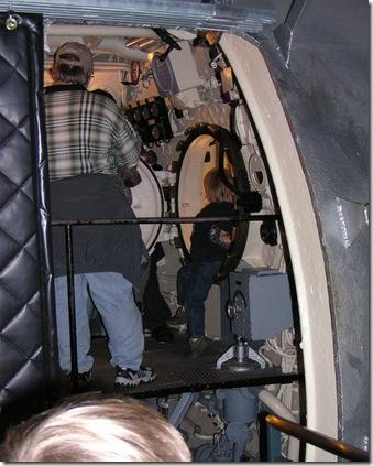 U505 Communications room hatch