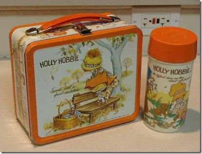Holly Hobbie lunch box