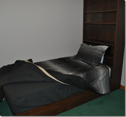 Bookshelf bed