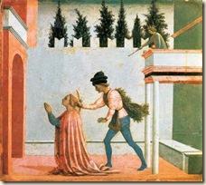 Domenico Veneziano. The Martyrdom of St. Lucy