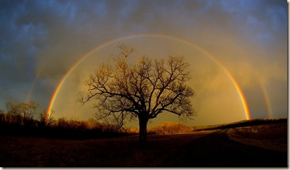 Double Rainbow photo by © Dan Bush 2006