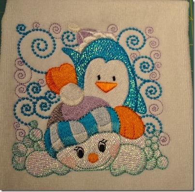 Mylar Penguin 003