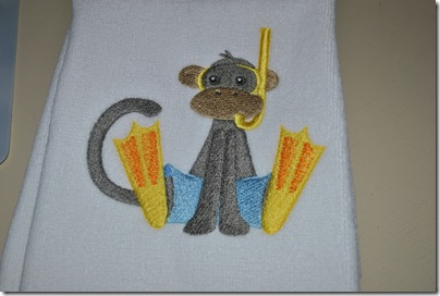 Embroidered Towels Christmas 2010 008