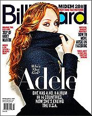 Adele na capa da revista Billboard
