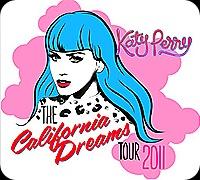 """Banner de divulgação da turnê """"California Dreams"""""""