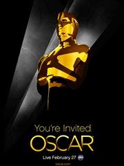 Pôster de divulgação do Oscar 2011