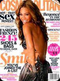 Beyoncé é a nova capa da revista Cosmopolitan