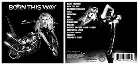 """Versão original do álbum """"Born This Way"""""""