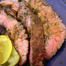 Alexa's Cilantro-Ginger Flank Steak