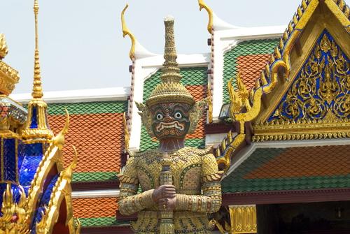 Giant%20in%20Wat%20Khra%20Kaew - Some Sculptures in Wat Phra Kaew