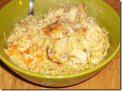 Simple Cookery Chicken and Rice Casserole