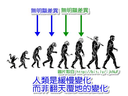 人類的緩慢演化